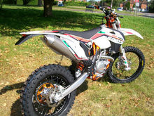 KTM EXC 350 SIX DAYS Enduro Motocross