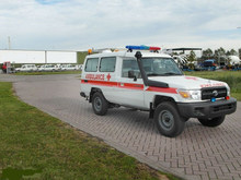 New Toyota Land Cruiser Hardtop HZJ78L 4x4 Ambulance 2014-LHD