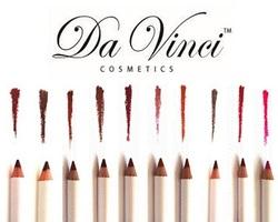 Da Vinci Cosmetics Lip Pencil - Natural Mineral Makeup, best out line your lips.