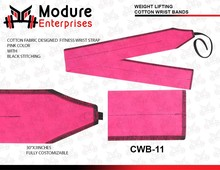 Modure Heave Duty and Durable Weight Lifting 100% Cotton Wrist Wraps