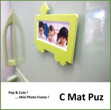 Various types and Pretty magnet fridge Paper photo frame with multiple functions made in Japan