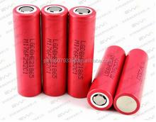 High Power Rechargable Battery 18650 maximum average power 110 watt