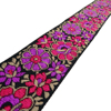 Sewing Supply 5.0 Cm Wide Floral Woven Jacquard Ribbon Sari Ribbon RT1349A