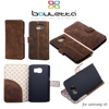 Wallet Style Bouletta Phone Case genuine leather