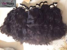 100% natural loose wavy Viet Nam human virgin hair