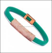 Diferentes estilo de plata del brazalete, Venta al por mayor hechos a mano turco Zirconia brazalete de plata