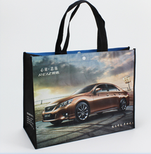 Non woven bag with cated for shopping