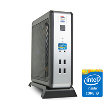 Mini PC | XL-700 -RDP Mini Desktop Computer (Intel Core i3 Processor 3.3GHz / 2GB DDR3 RAM / 500 GB HDD) - Size is Just 3.7 Lit