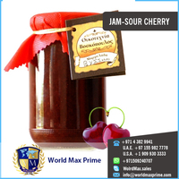 Organic Fruits Fresh Sour Cherry Jam Canned