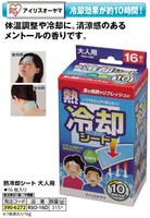 gel cooling pad for adult or child Iris Ohyama Japanese brand