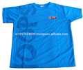 Baloncesto ronda de niños cuello fresco y seco t- shirt