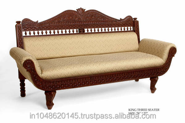 Antique Wooden Sofa ~ Pin suppliers antique sofa set silver on pinterest