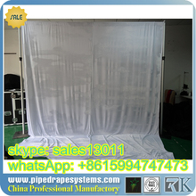 rk pipedrape road case,pipe and drape kits for outdoor show or indoor show,event,wedding,trade show,concert