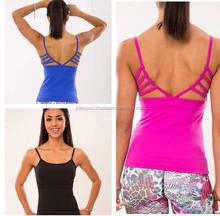 2015 Womens Compression Wear Singlet Yoga Tank Tops Gym wear for Ladies