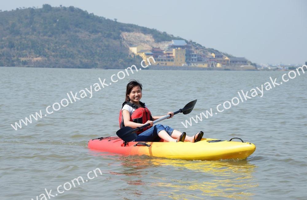 Inflable sit on top kayak FLASH barcos para venda para as mulheres e adolescentes de coolkayak