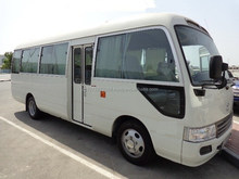 Used Left steering Toyota Coaster Bus 30 Petrol 2010