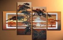 natural scenery oil painting, Lanspace oil painting