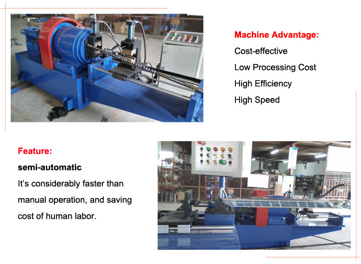 the advantage of pipe/tube designing machine