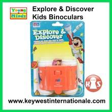 Young Mindz Explore & Discover Kids Binoculars Orange