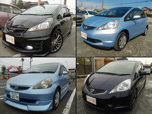Durable and Low cost used honda fit car with good fuel economy made in Japan