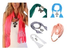 Closeout Women's Random Necklace Jewelry Scarves