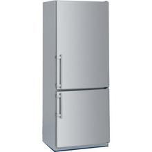 """Liebherr Counter Depth Stainless Steel 30"""" Bottom Freezer Refrigerator"""