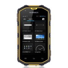 """2014 Hummer H5 Phone 3G Dual Core IP67 Waterproof Dustproof Shockproof 512M RAM 4G ROM GPS Android 4.2 4.0"""" H5 with 8GB TF Gift"""