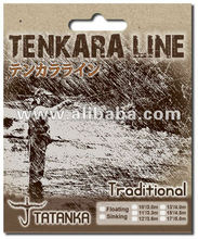 """TATANKA"" - Tapered Tenkara Line TRADITIONAL/Silicone coated nylon"