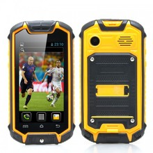 Water resistant smart phone - Yellow