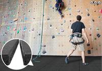 ErgoPlay outdoor safety Rock climbing rubber tiles/EN 1177 standard quality rubber safety mats/European popular sales safety mat