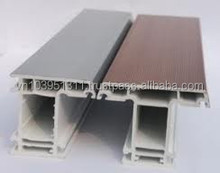 DAG WHITE AND WOODEN COLOR uPVC/PVC FOR DOOR AND WINDOW SYSTEM