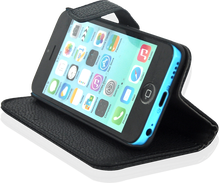 Wallet Case for iPhone 5C (Leather Texture)