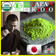 Japanese and organic india green tea