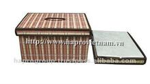 Dobrável cestas de bambu roupa