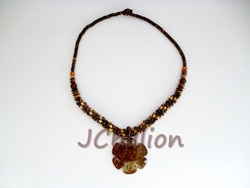 Coconut Shell Necklace OEM ( Real Natural )