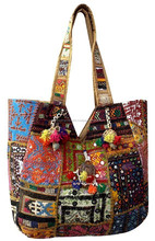 Patchwork Hippie Tribal Indian Ethnic Discover Unique Bohemian patchwork Banjara bag