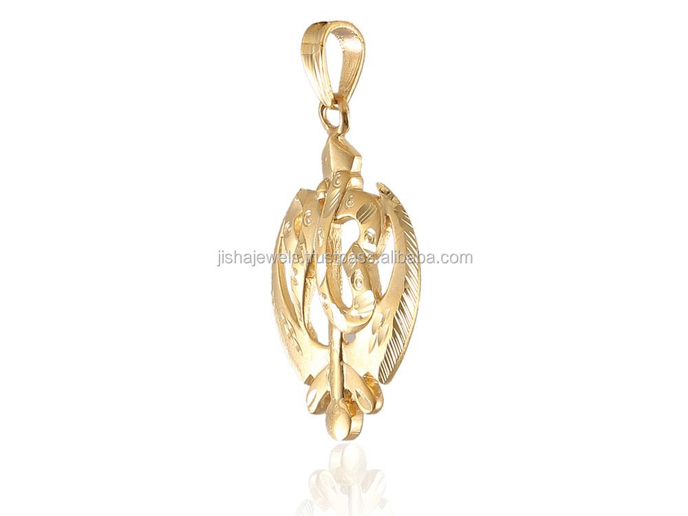 Indian religious sikh symbol ik onkar pendant in solid bis hallmark gl pdt 330 3 3g aloadofball Images
