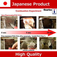 Japanese non-flammable antistatic transparent vinyl roll sheet