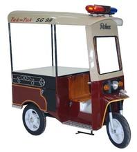 Relux TUK - TUK Open Top Steel Kiosk and Iron Food cart