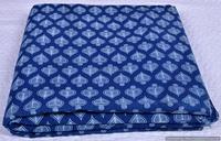 Jaipur Hand Block Printed Fabric Sanganeri Print 100% Cotton Handmade Heart Printed Fabric