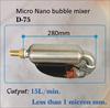 Micro Nano bubble generator mixer, ozone water treatment