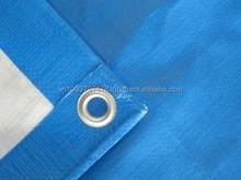 130 gsm 3x4m PE Tarpaulin in blue/white