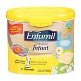 Enfamil Premium fórmula infantil, 0-12 meses, leche a base de polvo w23. 4 oz de alimentos