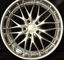 WHEELS FOR CAR BMW E46 M3 Silver 18-Inch Staggered Rims