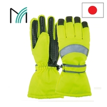 reflective and durable working safety gloves and protective shoes at fair prices sample available