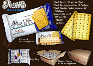 biscuits / Soda cracker lait sel cracker biscuits