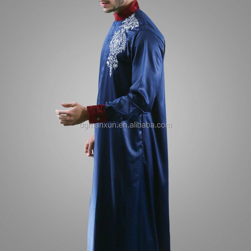 modern islamic clothing embroidered mens thobe (3).jpg
