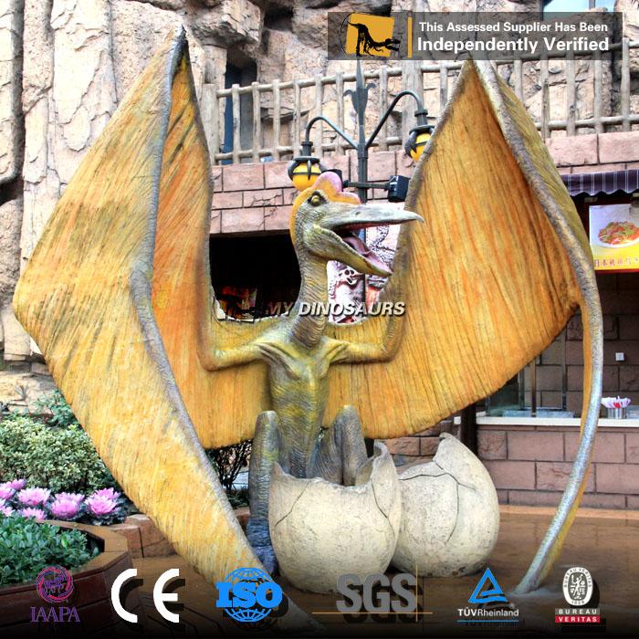 artificial mechanical dinosaur egg statue.jpg
