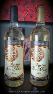 Yeni Riviere de Mose Tatlı Chardonnay 12% (0,78 eur/şişe) OEM ÜCRETSIZ