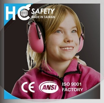 OEM HC706 CE EN352-1 Safety Kids fold Earmuff